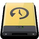 Machine, Time, Yellow Icon