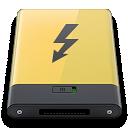 Thunderbolt, Yellow Icon