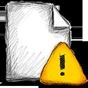 Error, File Icon