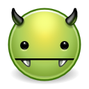 Avatar, Devil, Evil, Green, Monster, Vampire Icon