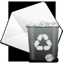 Delete, Edit, Mail Icon