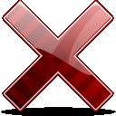 Cancel, Delete, Remove Icon