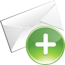 Email, Envelope, Plus Icon