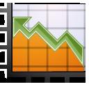 Chart, Graph, Stock Icon