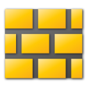 Wall, Yellow Icon