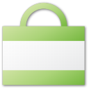 Bag, Green, Shopping Icon
