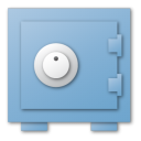 Blue, Security Icon