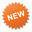 Label, New, Orange, Sticker Icon