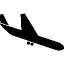 Airport, Landing, Plane Icon