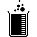 Beaker, Chemistry, Measurement, Science Icon