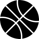 Balle, Basket, Dribbble Icon