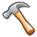 Development, Hammer, Package, Tool Icon