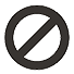 Forbidden, Stop Icon