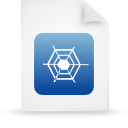 Blue, Document, File, g, Paper Icon