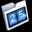 Calendar, Folder Icon