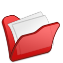 Folder, Mydocuments, Red Icon