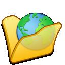 Folder, Internet, Yellow Icon
