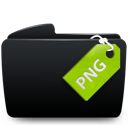 Black, Folder, Png Icon