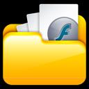 Files, My, Swf Icon