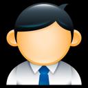 Administrator, Employee, Geek, Male, Man, Suit, User Icon