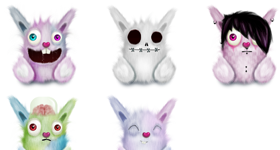 Rabbits Icons