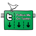 Sign, Twitter Icon