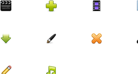 Pixel Pulp Teaser Icons