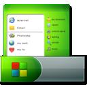 Icon, Menu, Start, Taskbar Icon
