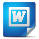 Icon, Office, Word Icon