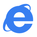 Blue, Ie Icon