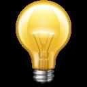 Bulb, Light, Yellow Icon