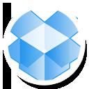 Dropbox, Round Icon