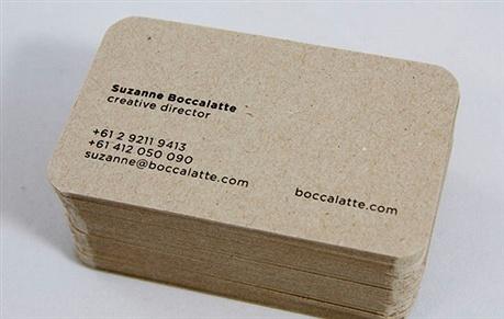 minimalistic,foil stamped,round corner business card