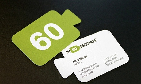 creative,round corner business card