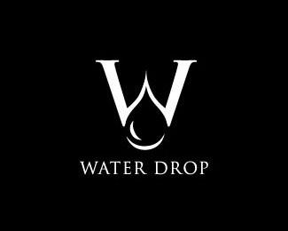 drop,water logo