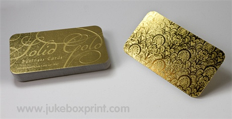 Gold Business Card business card