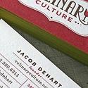 Culinary Culture Letterpress