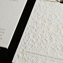 White Tea Photography - Letterpress Card