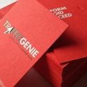 Bright Red Letterpress