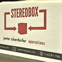 Stereo Box Letterpress