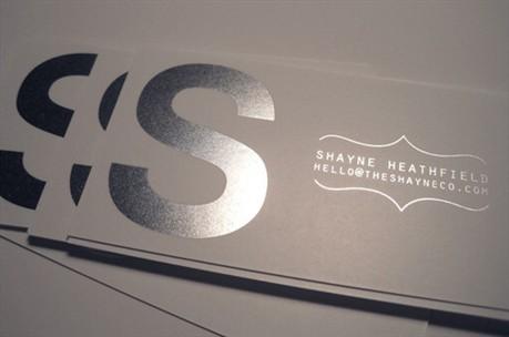 Sleek Simple Design business card