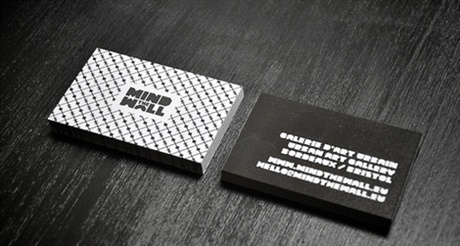 Mind The Wall Design Card business card