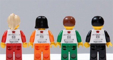Lego  – Coolest  Design Ever? business card