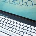 Laptop Design Business Card