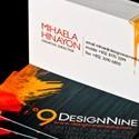 Design Nine Media Card