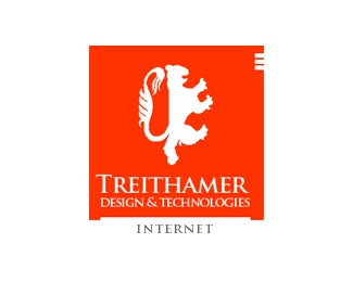 design,internet,technology,treithamer logo