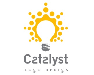 catalyst,idea,lightbulb,explosion,burst logo