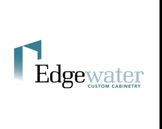 building,home,water,kitchen,cabinets logo