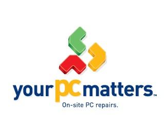 it,colourful,pc repair logo