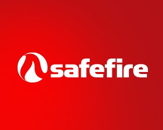 fire,grey,red,flame,fire detection logo